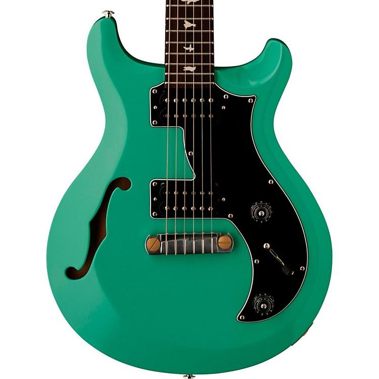 PRSS2 Mira Semi-Hollow with Bird Inlays Electric GuitarSea Foam Green