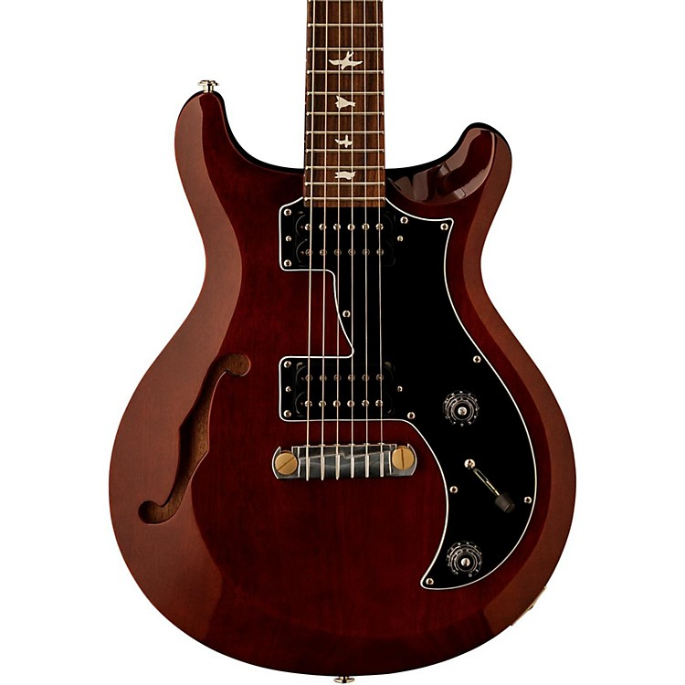 PRSS2 Mira Semi-Hollow with Bird Inlays Electric GuitarSienna