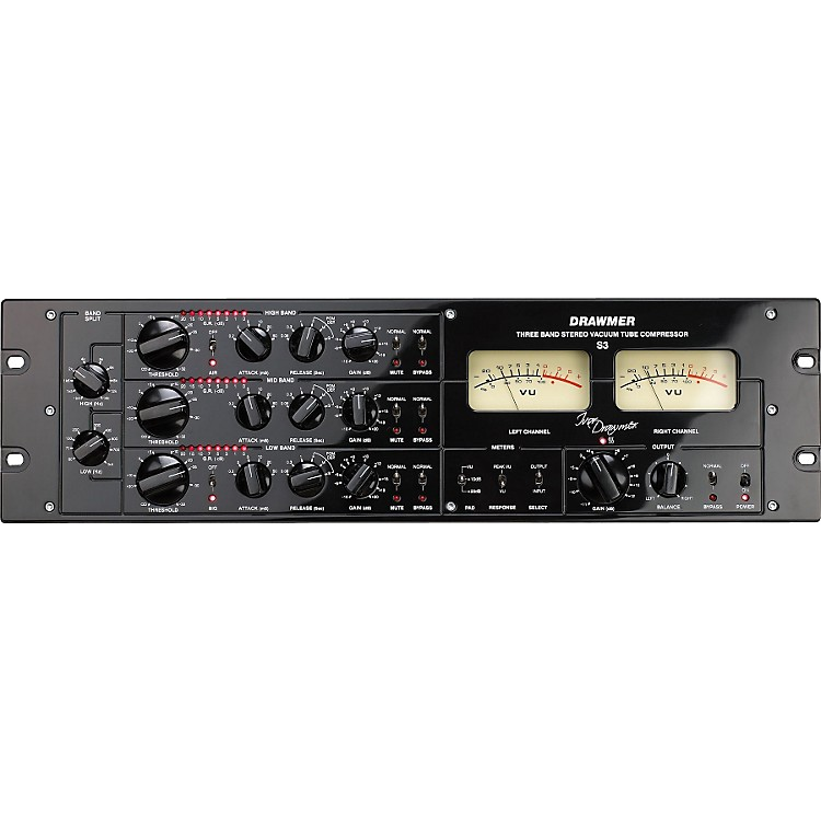 Drawmer S3 Multi-Band Stereo Tube Compressor