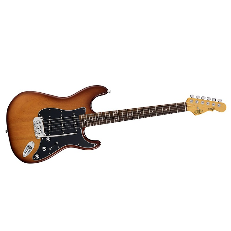 G&L S500 Electric Guitar Tobacco Sunburst Rosewood Fretboard