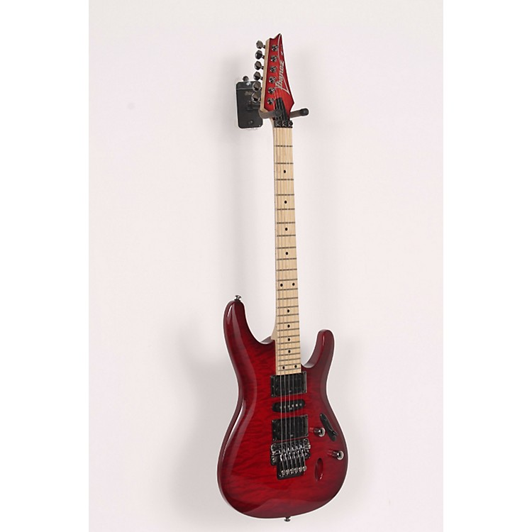 Ibanez S570MQM Electric Guitar Transparent Red Burst 886830557859