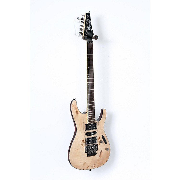 Ibanez S770PB Electric Guitar Flat Natural 888365910994
