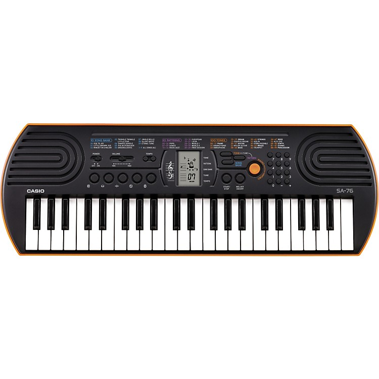 Casio SA-76 Keyboard Orange