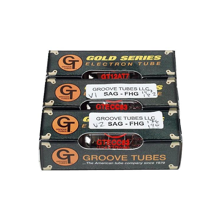 Groove TubesSAG-FHG Fender High Gain Preamp Tube Changing Kit