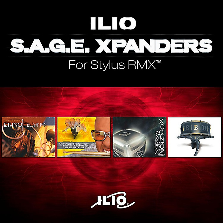 Ilio SAGE Xpander Bundle for Stylus RMX Software Download