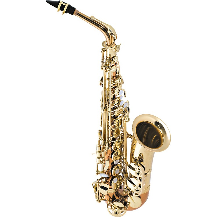 Selmer SAS280 La Voix II Alto Saxophone Outfit Copper Body with Yellow Brass Bell and Keys