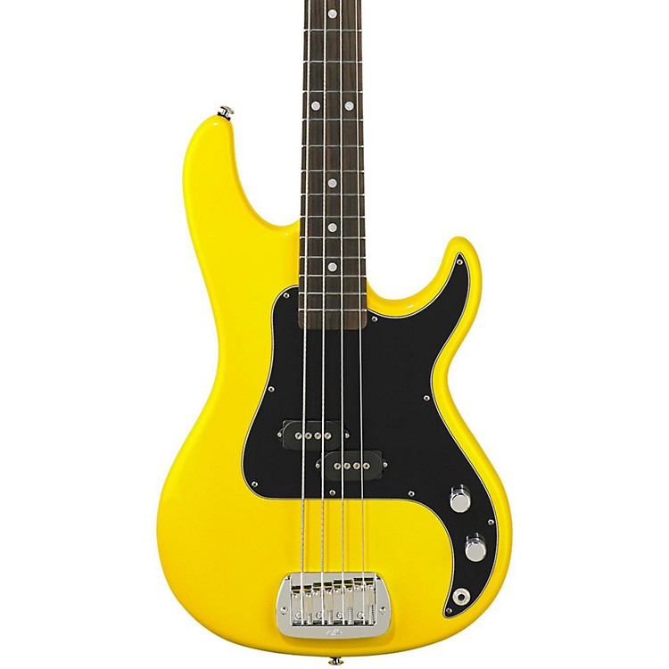 G&L SB-1 Electric Bass Guitar Yellow Fever