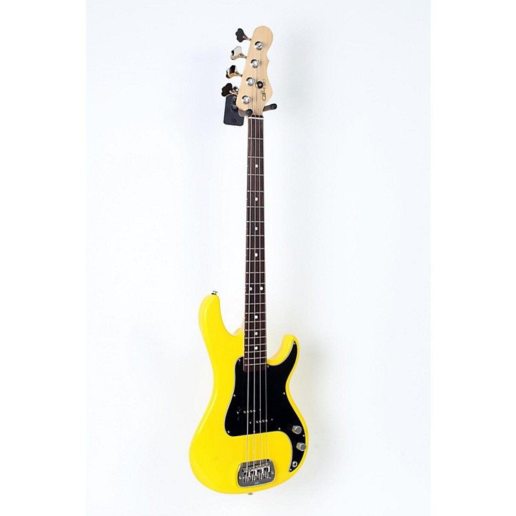 G&L SB-1 Electric Bass Guitar Yellow Fever 888365599625