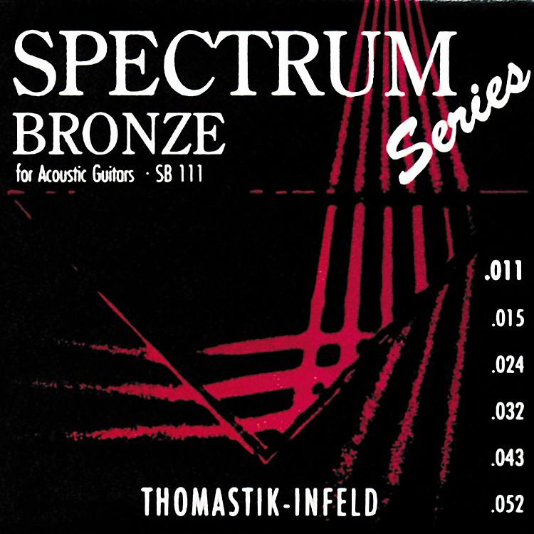 ThomastikSB111 Spectrum Bronze Acoustic Strings Light