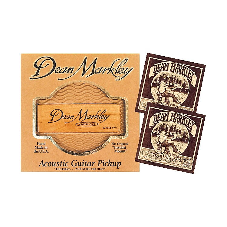 Dean Markley SC-1 Acoustic Pro Mag Pickup Bundle