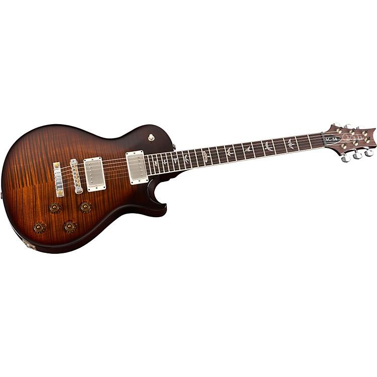 PRSSC 58 Nickel Hardware Electric GuitarBlack Gold Wrap Burst