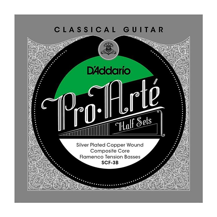 D'AddarioSCF-3B Pro-Arte Flamenco Tension Classical Guitar Half Set