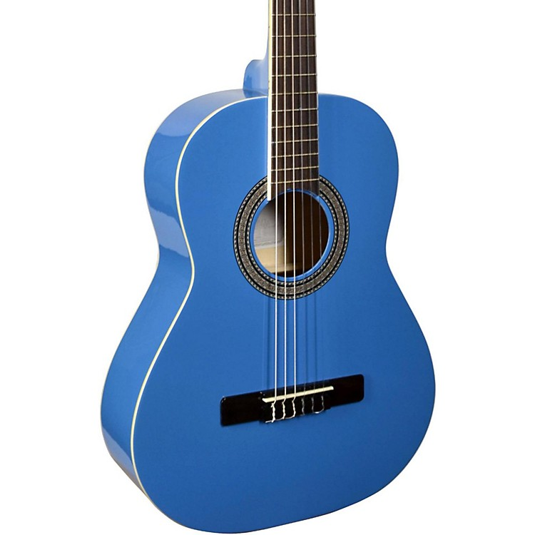 San MateoSCS6 1/2 Size Mini Classical Acoustic GuitarBlue