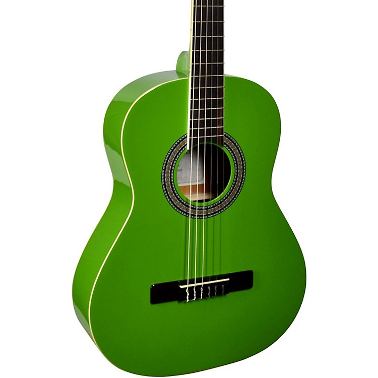 San Mateo SCS6 1/2 Size Mini Classical Acoustic Guitar Green