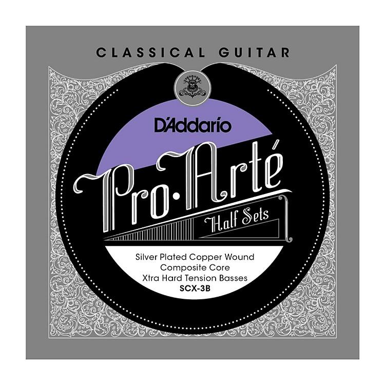 D'AddarioSCX-3B Pro-Arte Extra Hard Tension Classical Guitar Strings Half Set