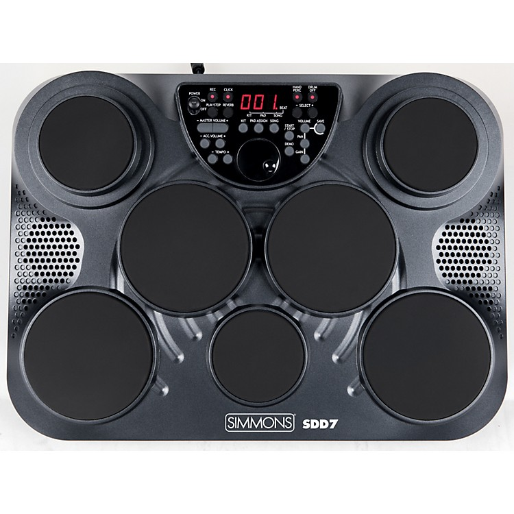 Simmons SDD7 7-ZoneDigital Drum Pad &