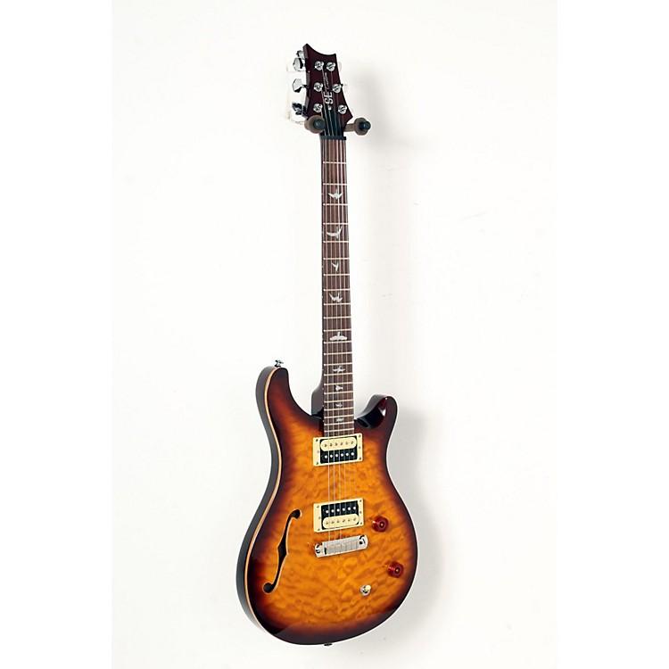 PRSSE Custom 22 Semi- Hollow Electric GuitarTobacco Sunburst888365841762