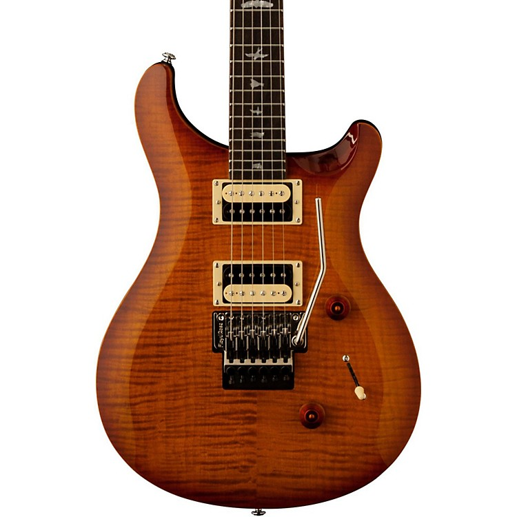PRS SE 'Floyd' Custom 24 Electric Guitar Vintage Sunburst