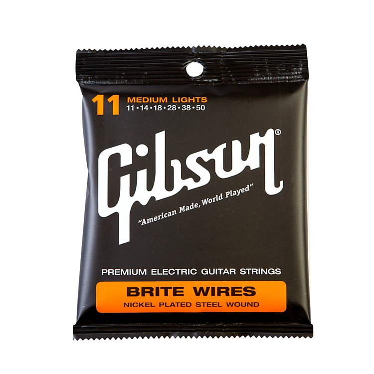 Gibson SEG-900ML Medium Light L5 Pure Nickel Wound Jazz Electric Guitar Strings