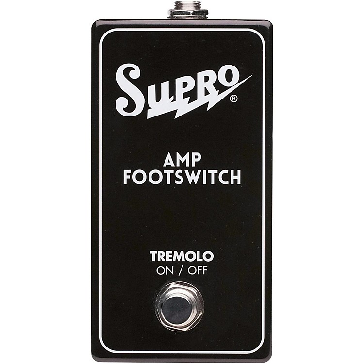 SuproSF1 Tremolo Single Footswtch