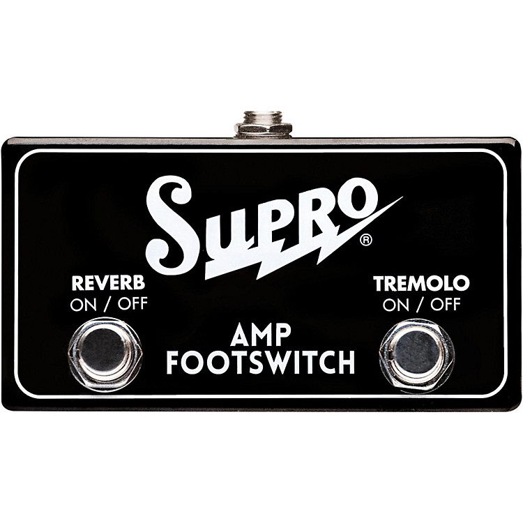 Supro SF2 Tremolo/Reverb Dual Footswitch