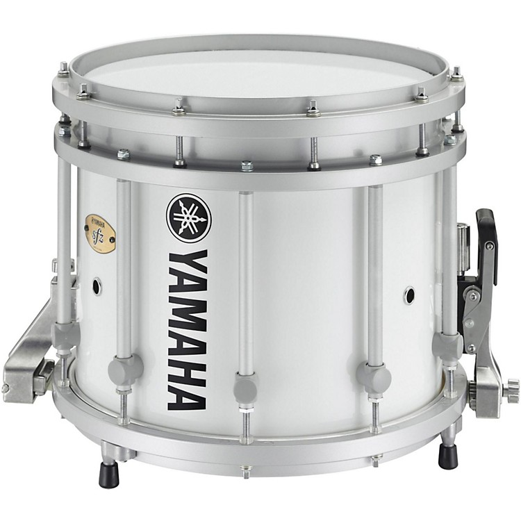 Yamaha SFZ Marching Snare Drum 13 x 11 in. White Forest with Standard Hardware