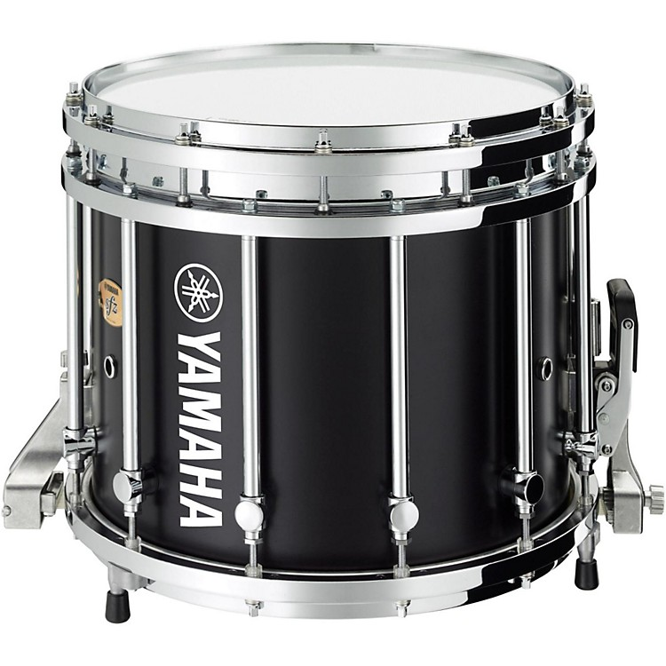 Yamaha SFZ Marching Snare Drum 14 x 12 in. Black Forest with Chrome Hardware