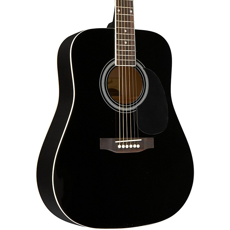 SavannahSGD-10 Dreadnought Acoustic GuitarBlack
