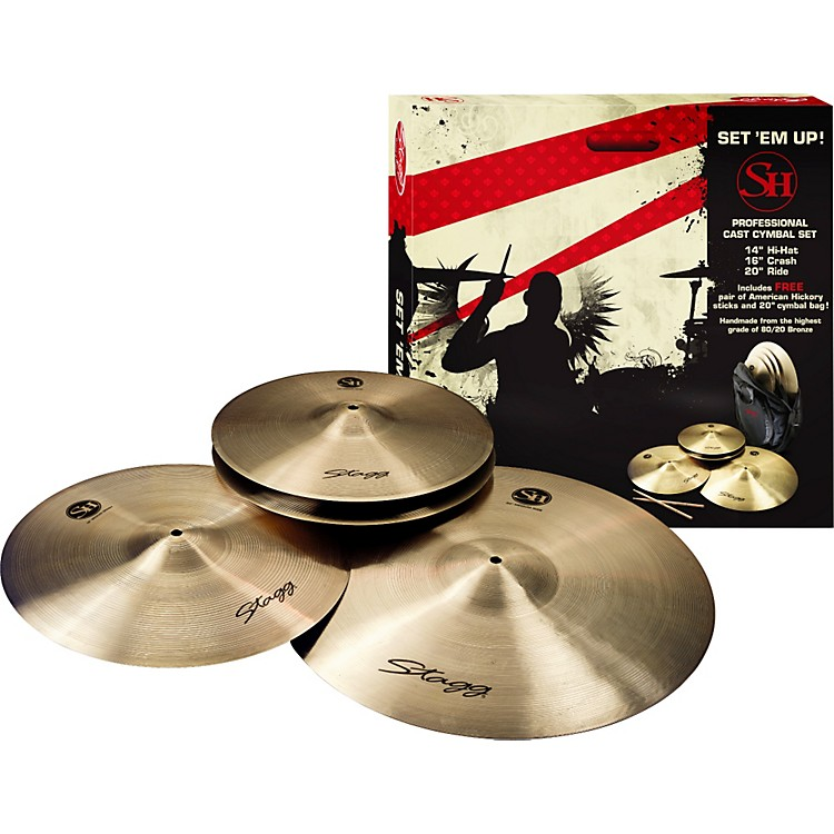 Stagg SH 4-piece Cymbal Pack