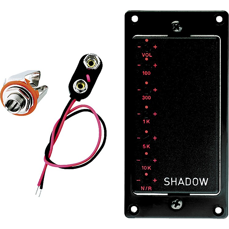 Shadow SH EQ5 Active Humbucker with Built In 5-Band Graphic Equalizer