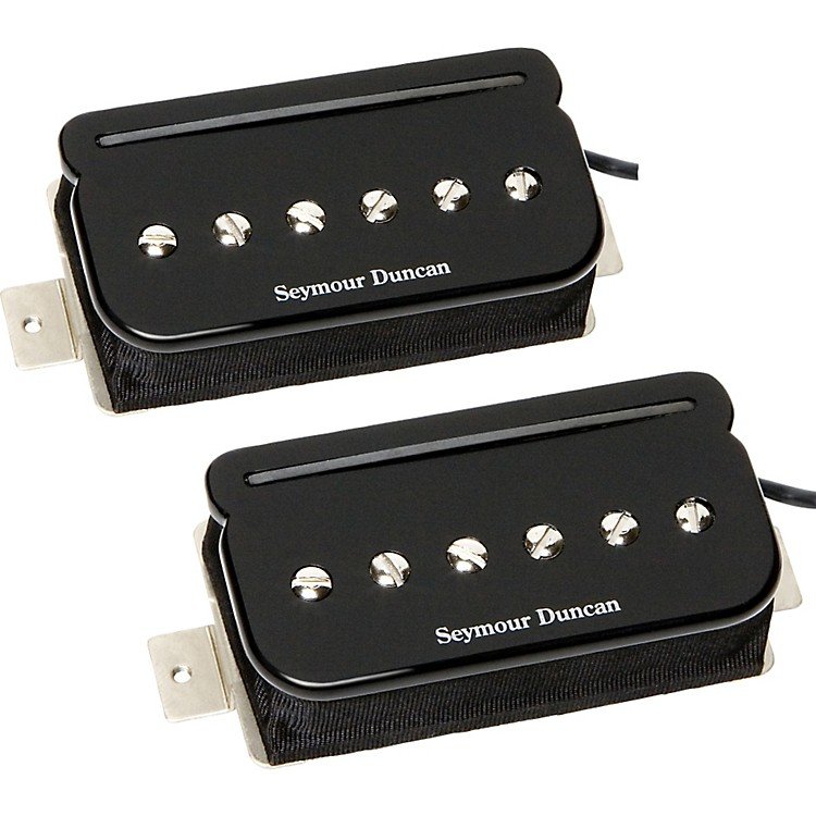 Seymour Duncan SHPR-1s P-Rails - Neck and Bridge Pickup Set Black