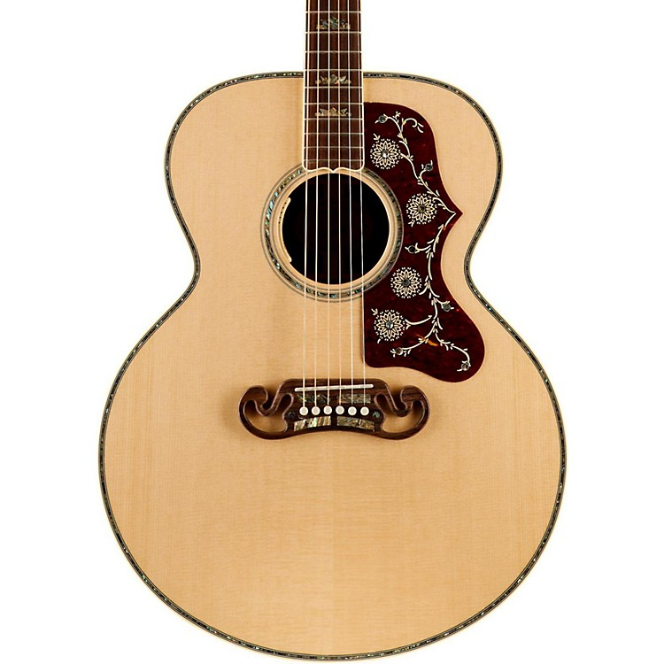 GibsonSJ-200 Abalone Custom Limited Edition Acoustic-Electric GuitarNatural