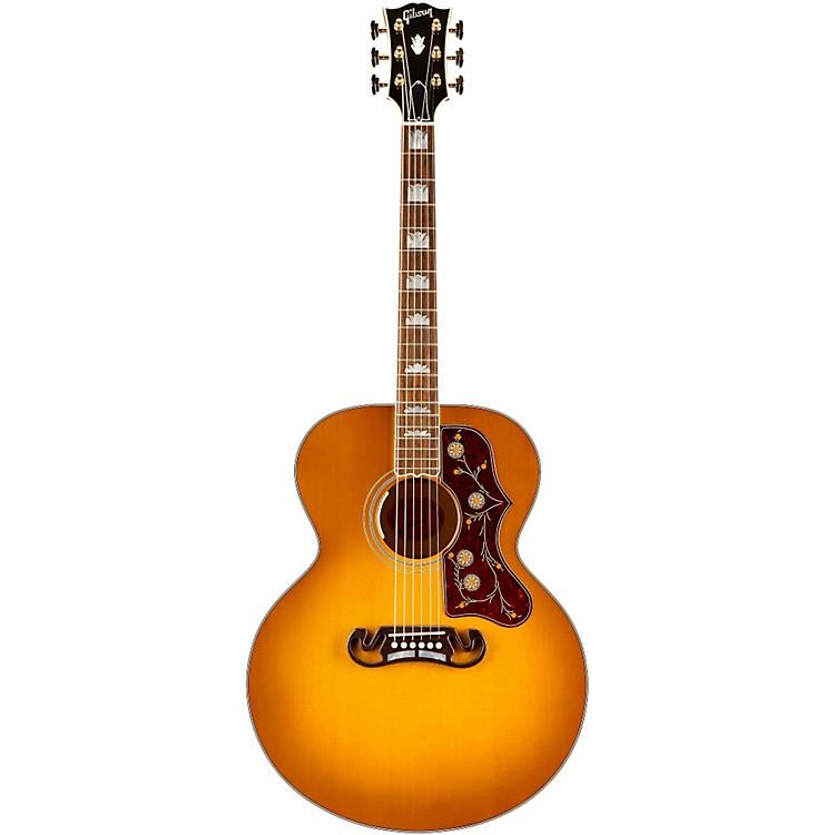GibsonSJ20HCG17 SJ-200 Special Acoustic-Electric GuitarHeritage Cherry Sunburst
