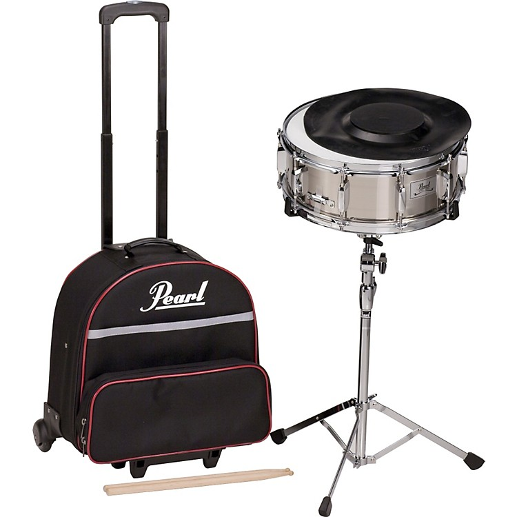 PearlSK-900C Snare Drum Kit & Case with Wheels