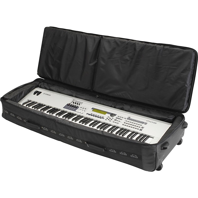 SKB SKB-KB88 88-Note Padded Keyboard Luggage Black