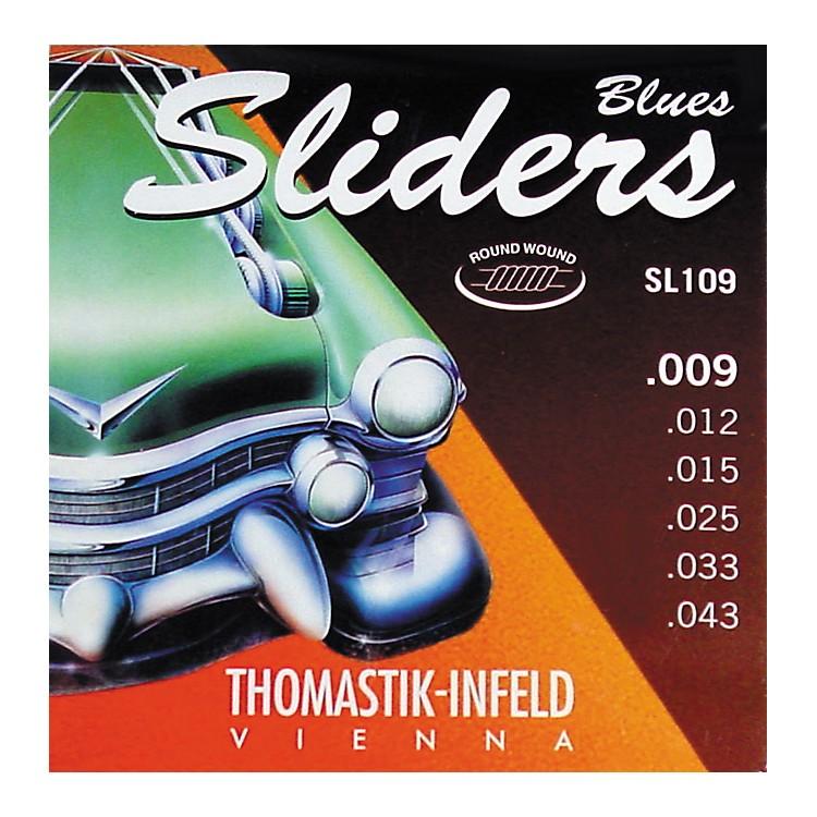 ThomastikSL109 Sliders Light Electric Guitar Strings