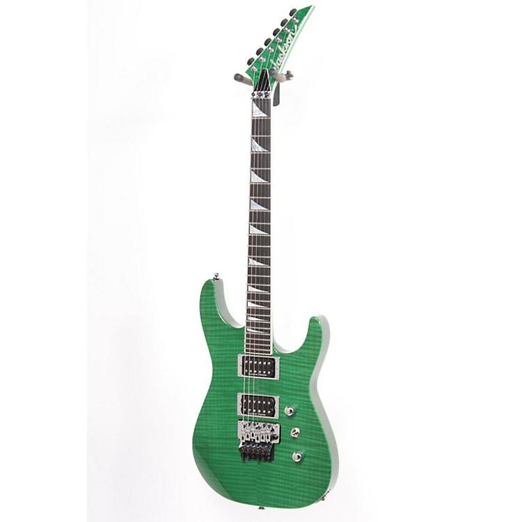 JacksonSL2H Custom USA GuitarTransparent Green886830769122
