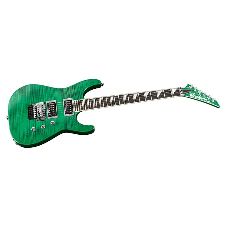Jackson SL2H Custom USA Guitar Transparent Green