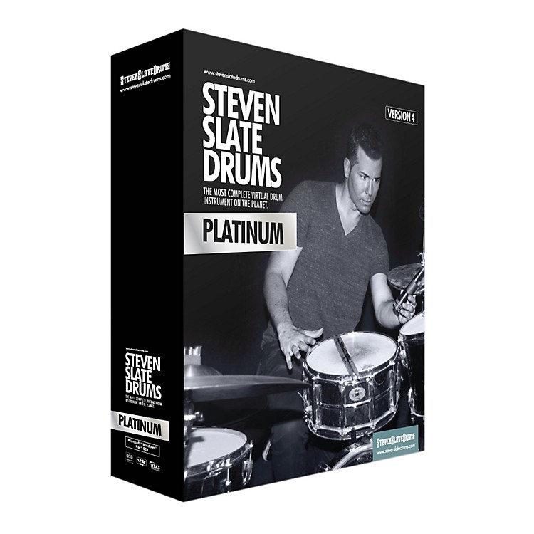 Steven Slate Drums SLATE DIGITAL SSD4 PLATINUM VIRTUAL INSTRUMENT