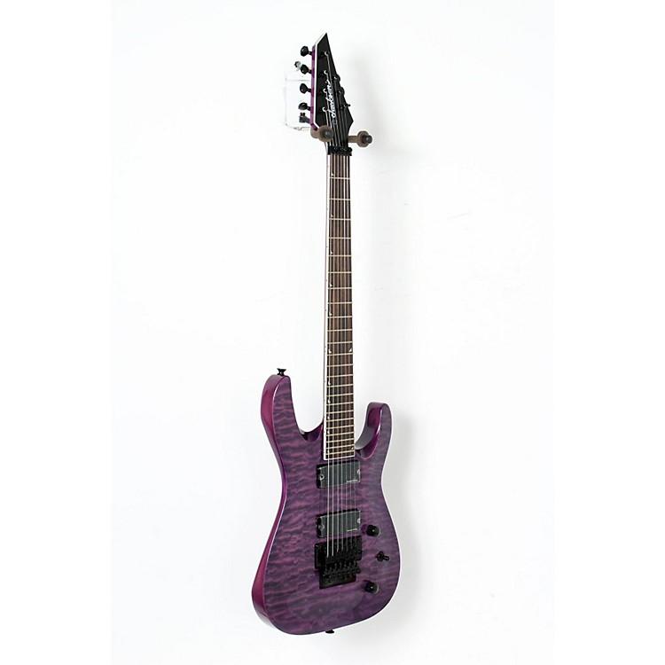 JacksonSLATXSD 3-7 Quilted Maple Top 7-String Electric GuitarTransparent Purple888365903897