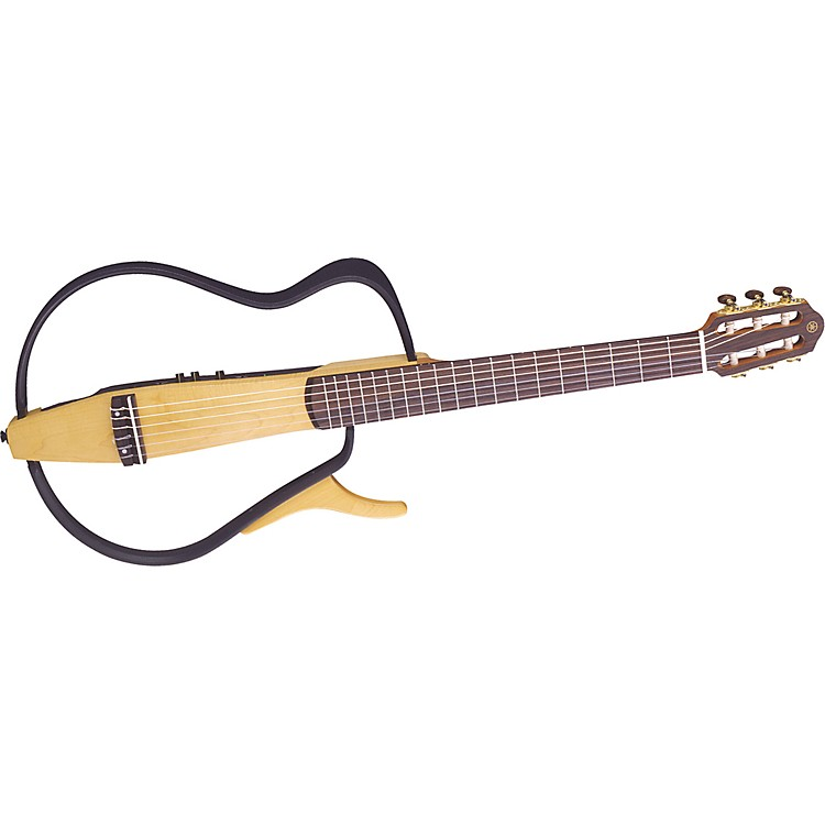 Yamaha SLG100N Silent Nylon-String Acoustic-Electric Guitar Natural
