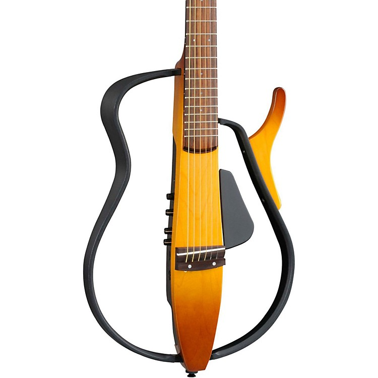 YamahaSLG110S Steel String Silent GuitarTobacco Sunburst
