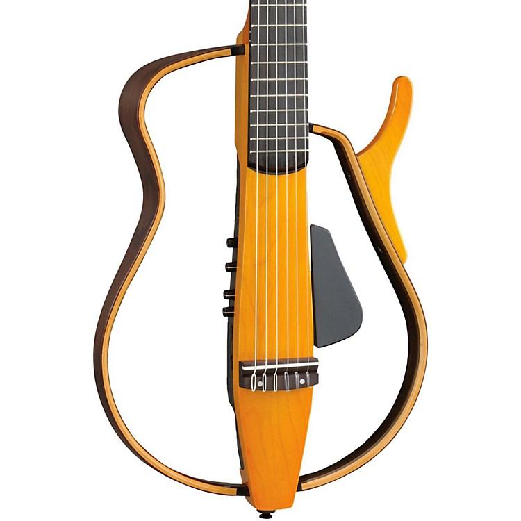 YamahaSLG130NW Classical Style Silent GuitarLight Amber Burst
