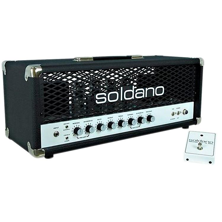 SoldanoSLO100 100W Tube Guitar Head with DepthBlack