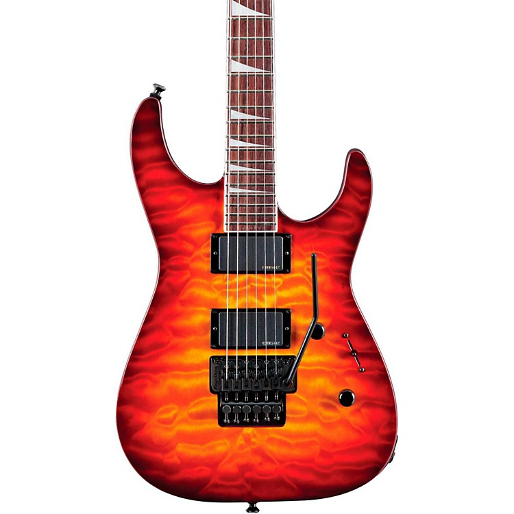 Jackson SLX Soloist X Series Electric Guitar Burnt Cherry Sunburst