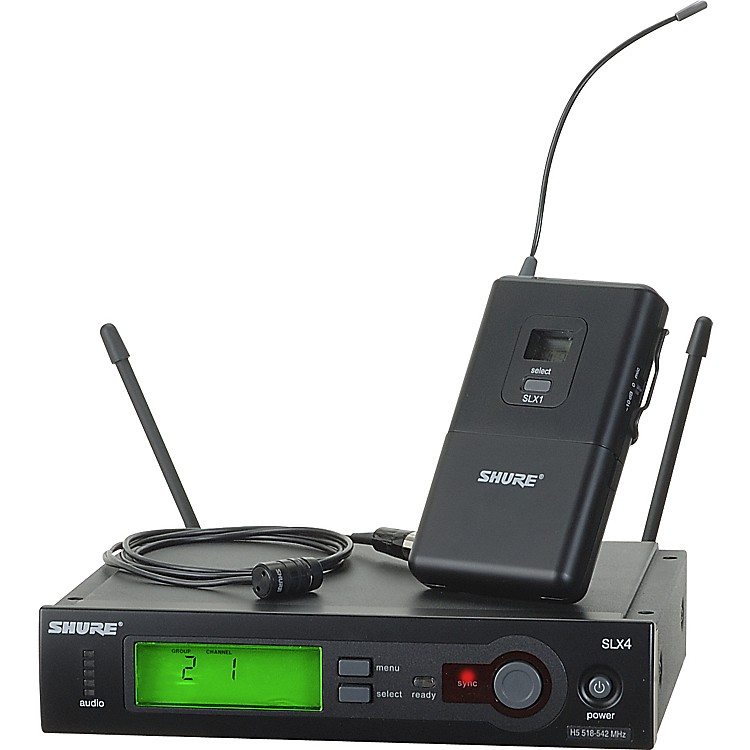 Shure SLX14/85 Lavalier Wireless System Band G5