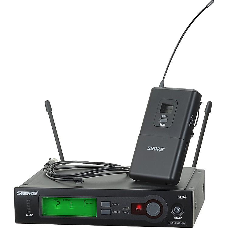 ShureSLX14/93 Lav Wireless SystemCH G4