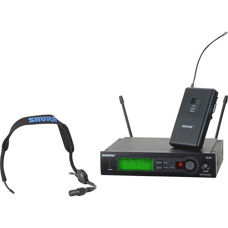 Shure SLX14/WH30 Headset Wireless Sys Band G4
