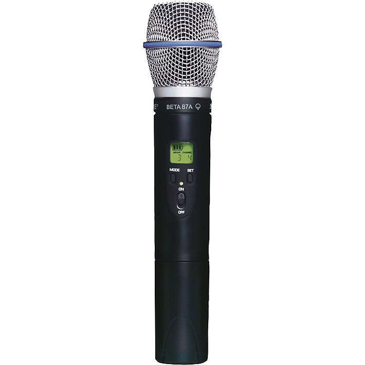 Shure SLX2/BETA87A Wireless Handheld Transmitter Microphone Band G4