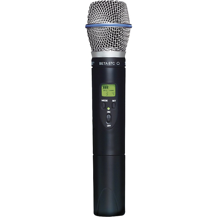 ShureSLX2/BETA87C Wireless Handheld Transmitter Microphone